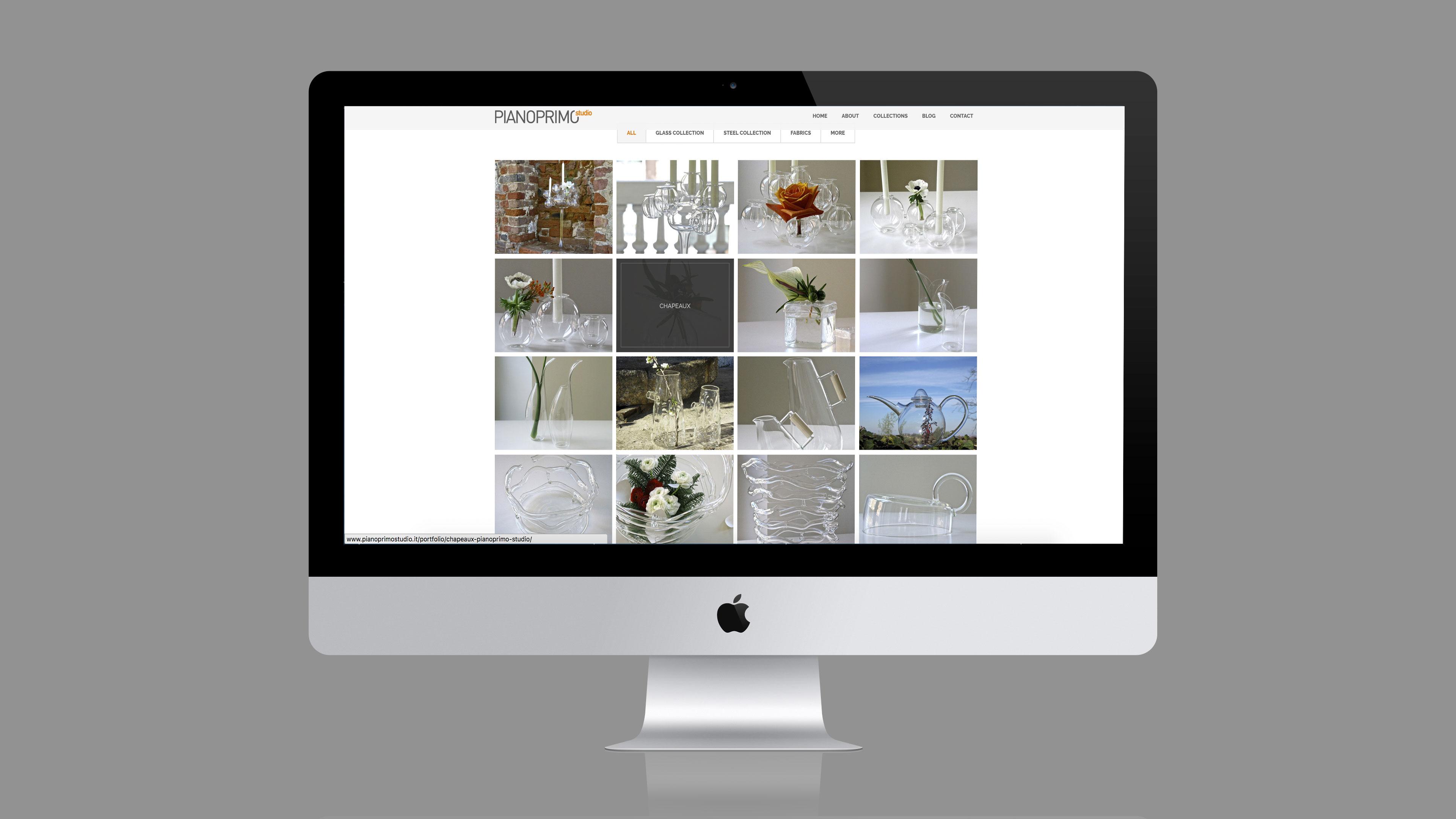 Pianoprimo Studio - sito web